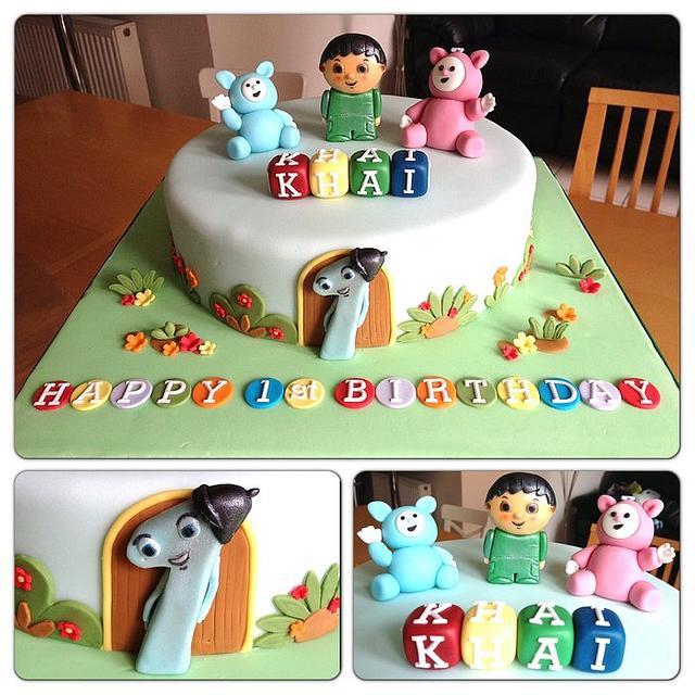 Enjoyable Boys First Birthday Cake Cake By Teresascakes Cakesdecor Funny Birthday Cards Online Alyptdamsfinfo