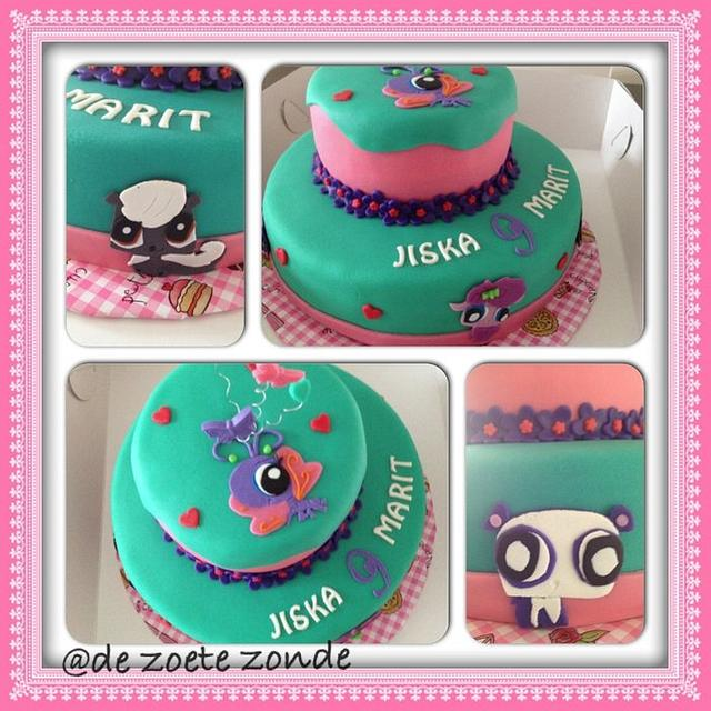 Pet shop cake