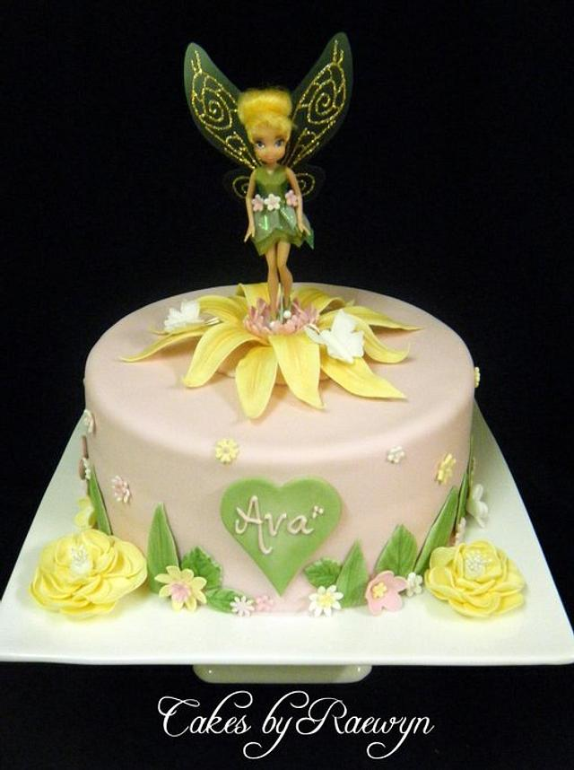 Tinkerbell in Pink and Yellow
