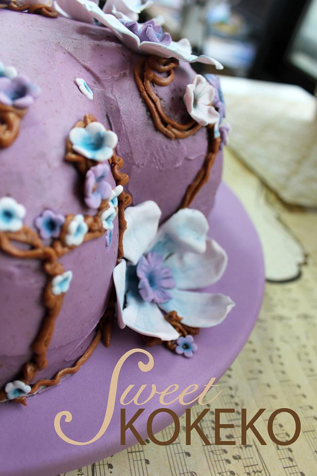 Romantic Aniversary Cake