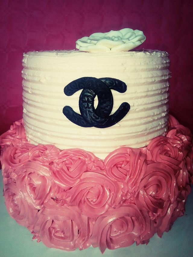 Chanel Buttercream Cake