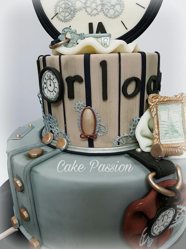 L' horloge Cake