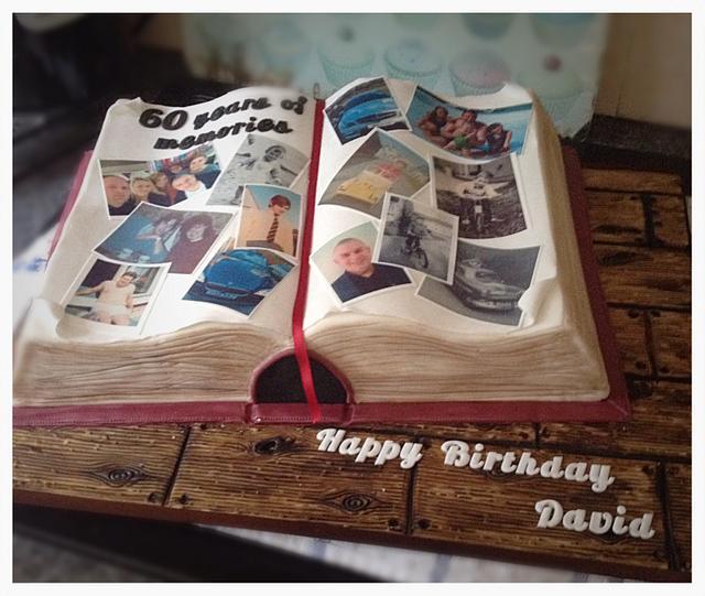 Photo album/ scrap book for 60th birthday