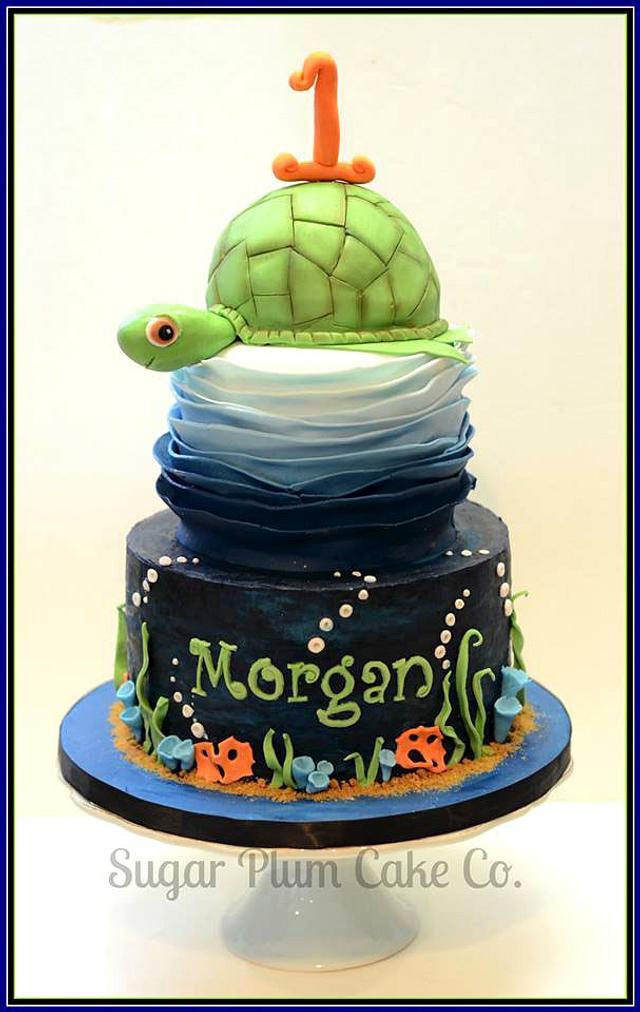 Turtleriffic First Birthday