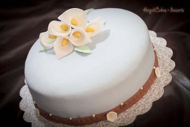 Cake Calla Lily