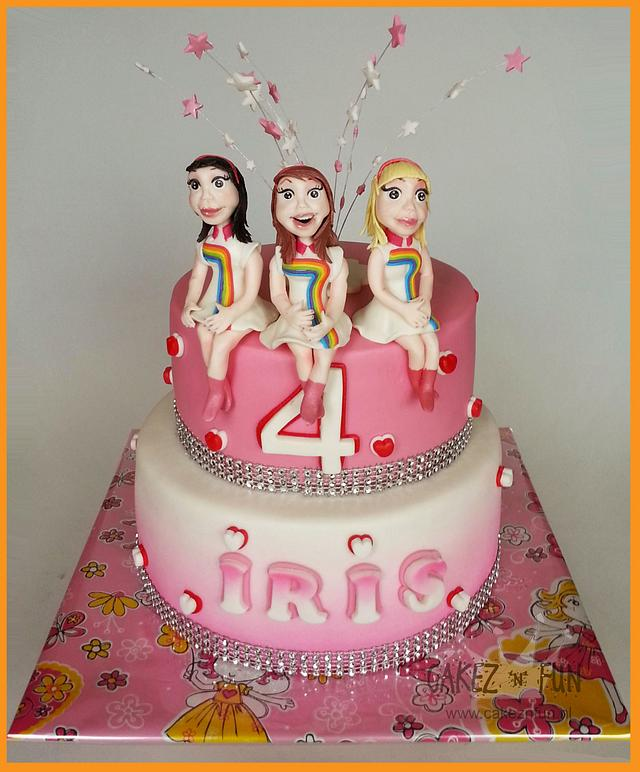 """Belgian Girlband """"K3"""" having a party!!"""