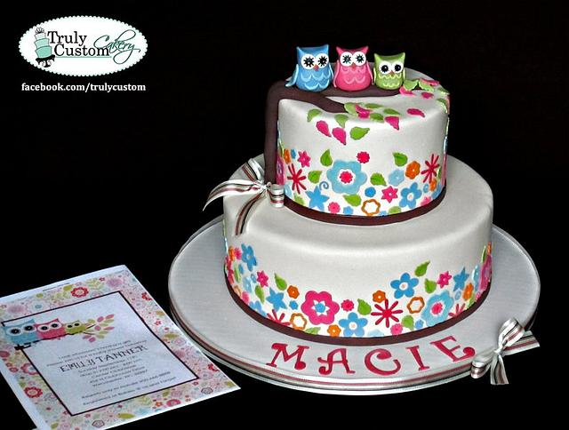 Owl Theme Baby  Shower