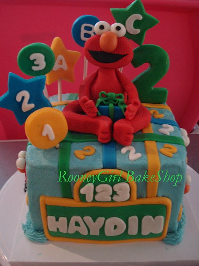 Elmo's 2nd Birthday cake