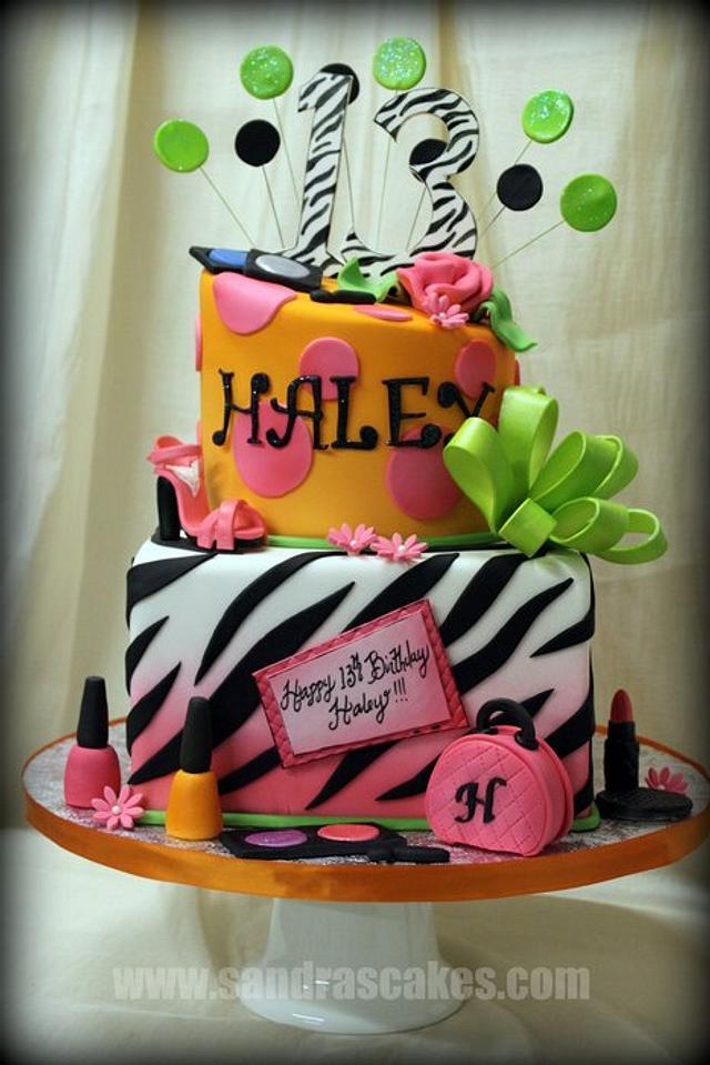 13th Birthday Diva Cake!