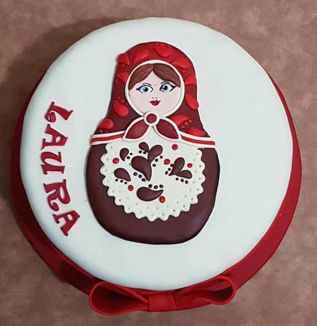 Matrushka cake