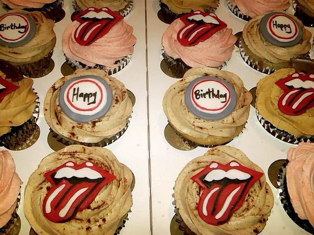Rolling Stones cupcakes