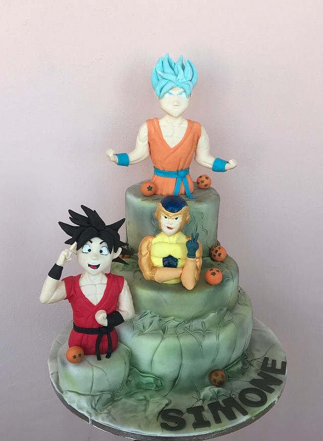 Dragon Ball Super Cake