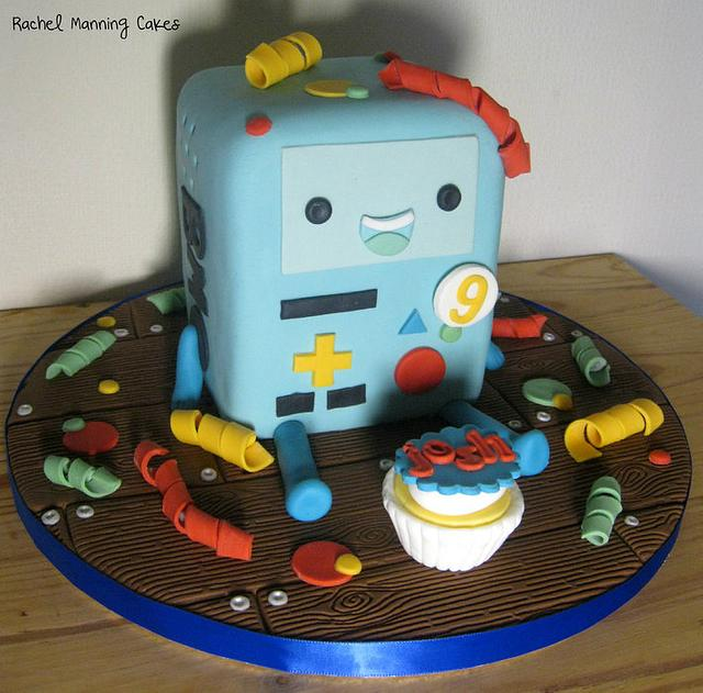Miraculous Bmo Adventure Time Cake Cake By Rachel Manning Cakes Cakesdecor Funny Birthday Cards Online Fluifree Goldxyz