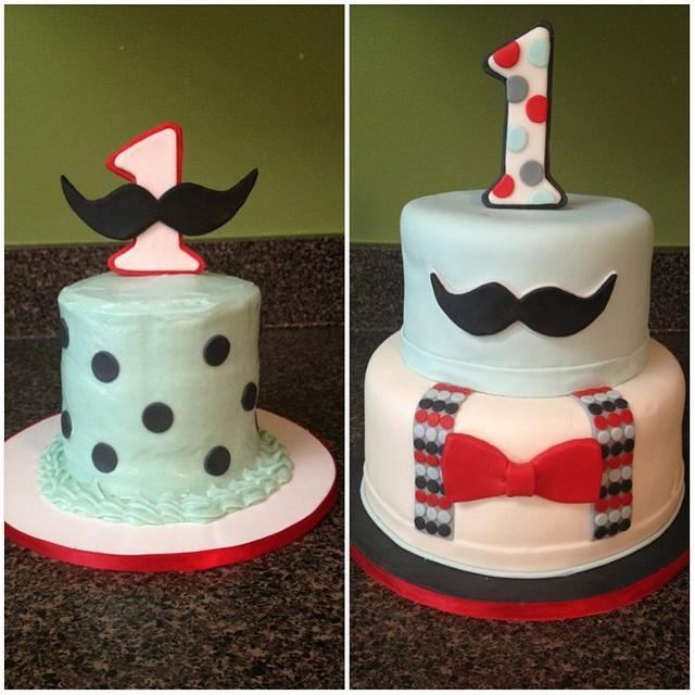 Sensational Little Man Themed Birthday Cake Cake By Something Sweet Cakesdecor Birthday Cards Printable Trancafe Filternl
