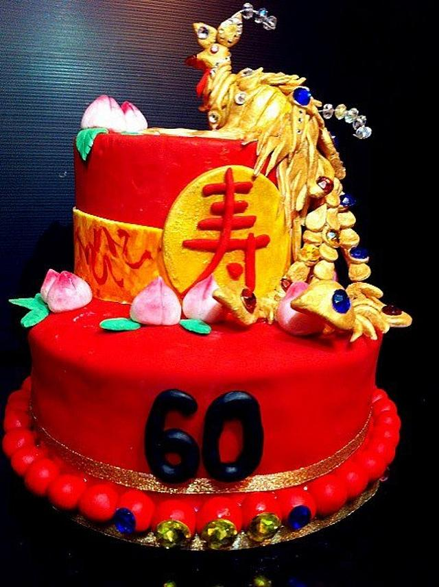 Prime Chinese Phoenix Cake Cake By Bellebelious7 Cakesdecor Funny Birthday Cards Online Barepcheapnameinfo