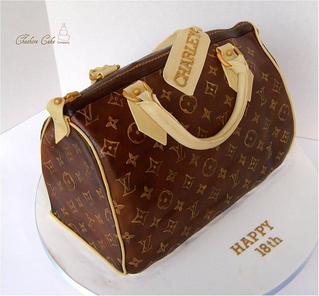 Louis Vuitton handbag / purse cake