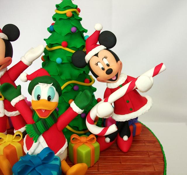 Mickey and friends Christmas