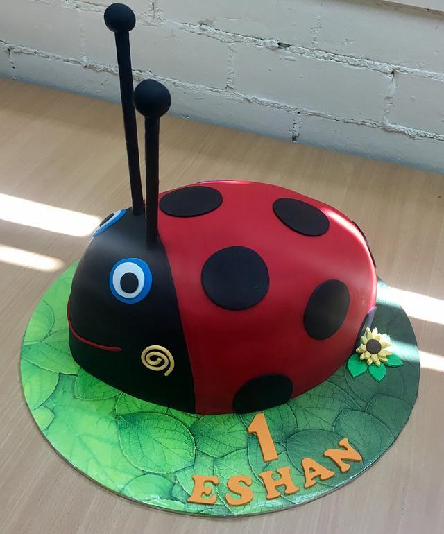 Gaston Ladybug Cake