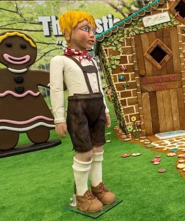 Hansel  - life size cake boy