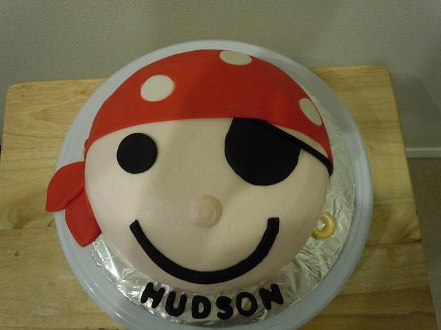Pirate smash cake