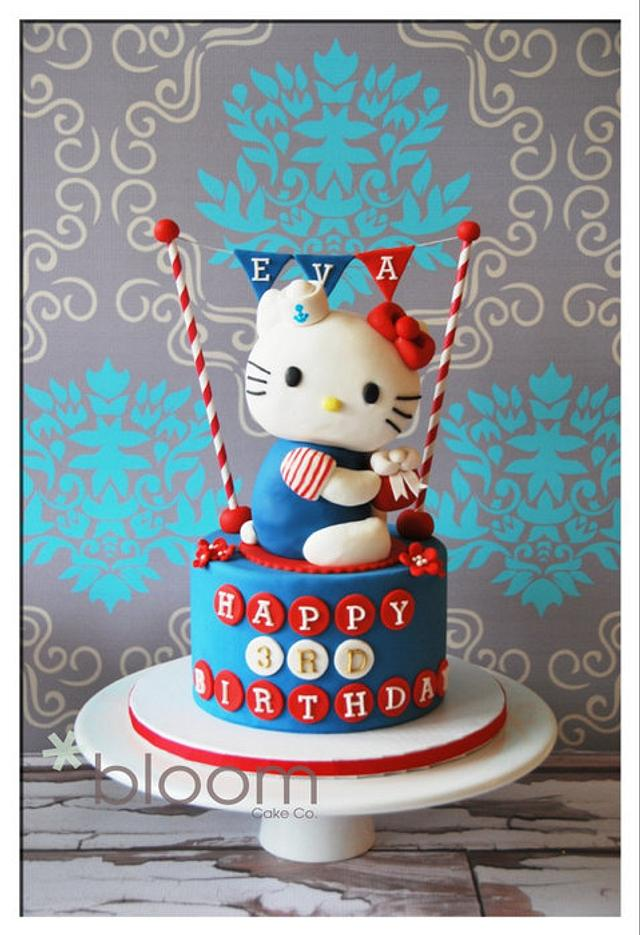 Hello Kitty Cake and desserts