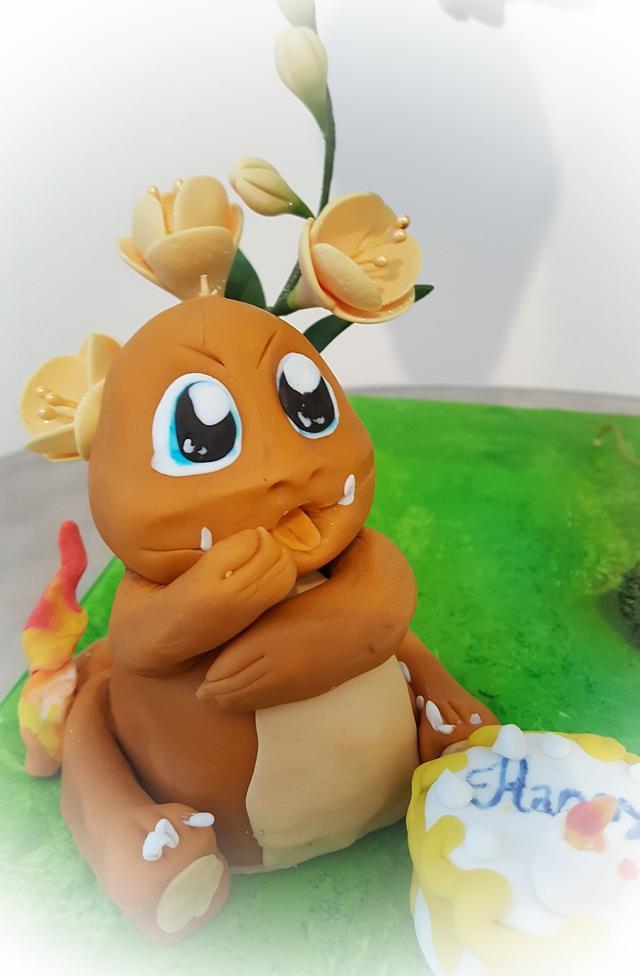 3D Pokemon Cake & Cookie
