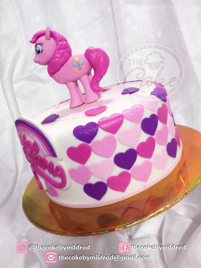 My Litte Pony cake (Pinkie Pie)