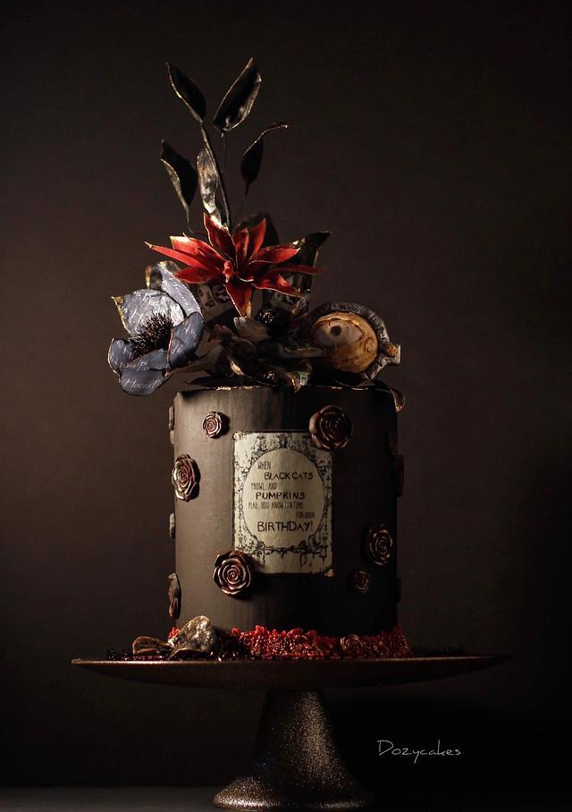 Hocus Pocus Birthday Cake