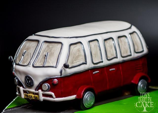 3D Volkswagen-cake