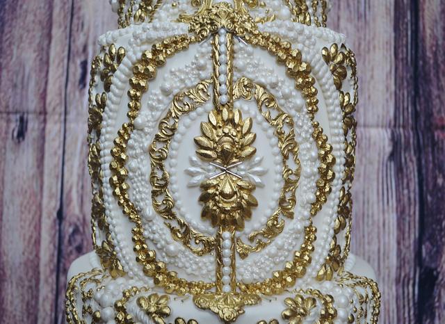 3 tier Royal Wedding  Cake