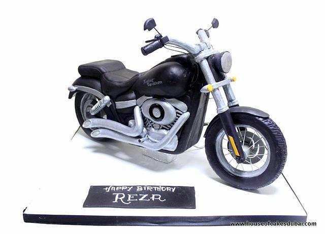 3D Harley Davidson Cake