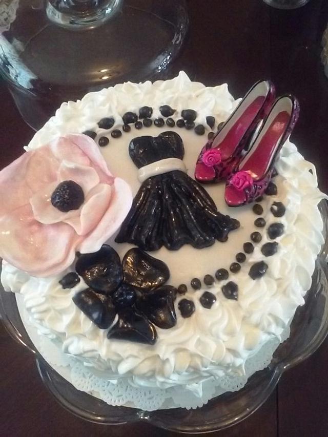 Cheesecake Bachlorette Cake