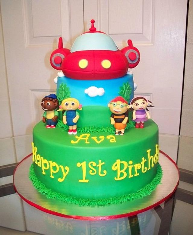 Strange Little Einsteins Cake Cake By Kimberly Cerimele Cakesdecor Funny Birthday Cards Online Alyptdamsfinfo
