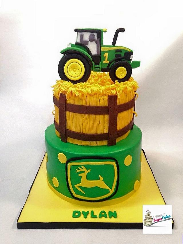 John Deere Cake - Cake by Peggy Does Cake - CakesDecor