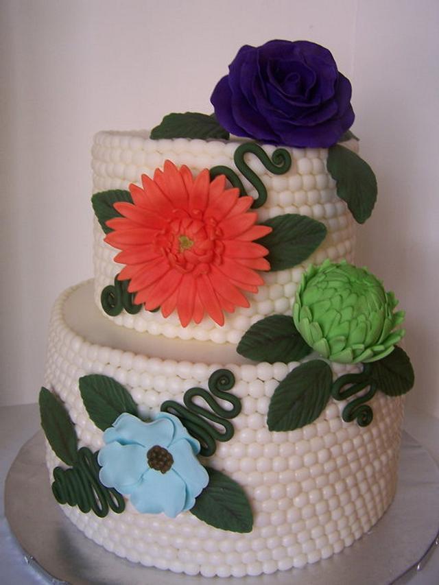 """Pearls cake"""