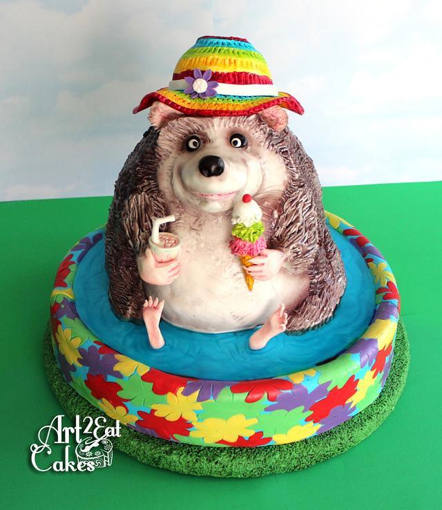 Hedgehog Loves Summer!
