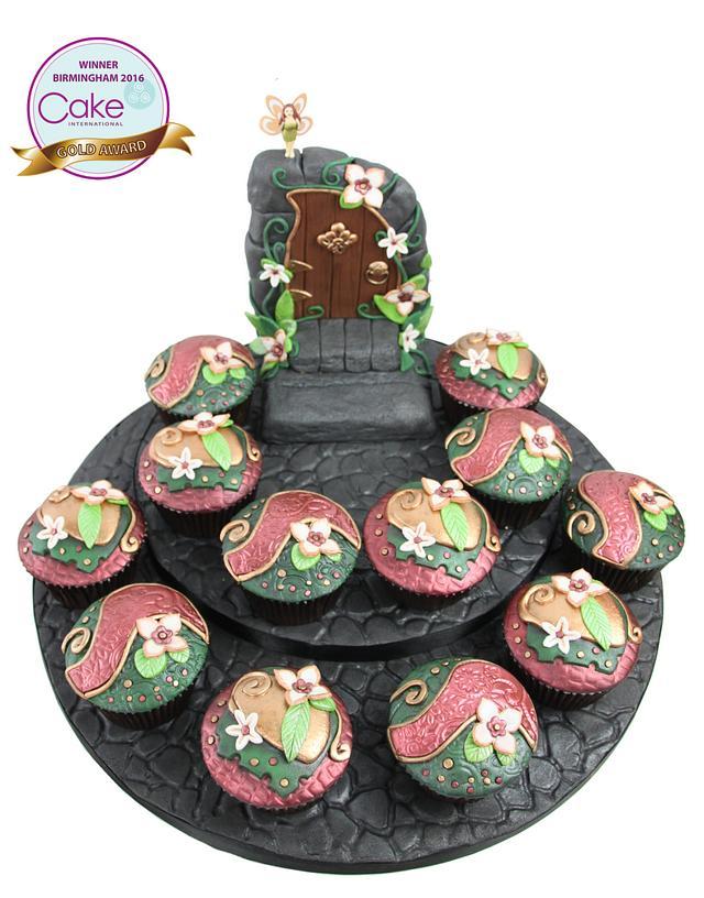 The Fairy Portal - Cupcake Category -  Birmingham Cake international 2016