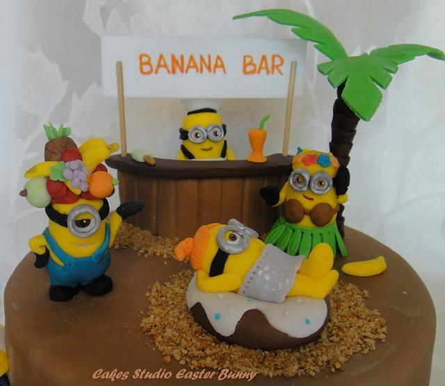 Minions Banana Bar