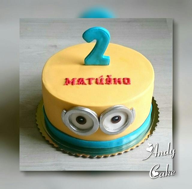 Swell Minion Birthday Cake Cake By Andycake Cakesdecor Funny Birthday Cards Online Unhofree Goldxyz