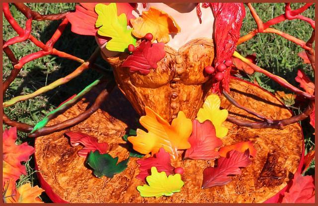 Autumn November Fairy- Woodland Fairies Collaboration