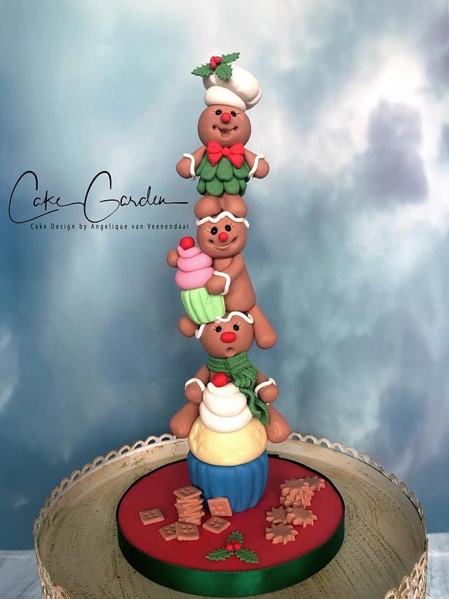 Gingerbreadman caketopper