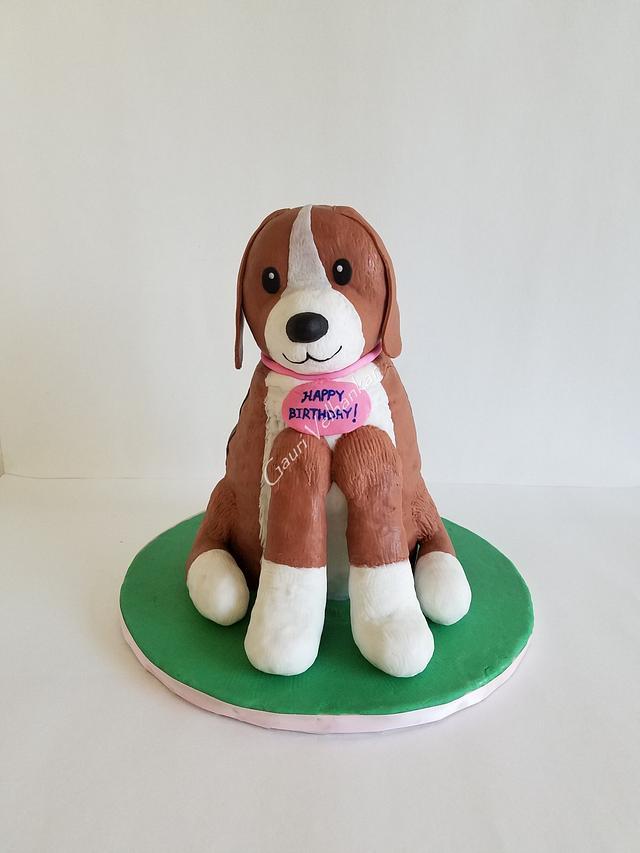 3D Puppy Cake