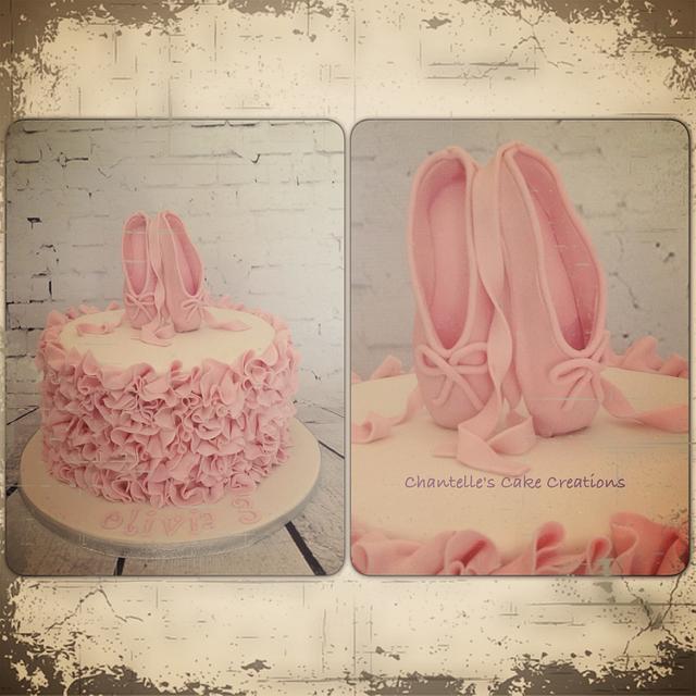 Ballerina slippers and ruffles