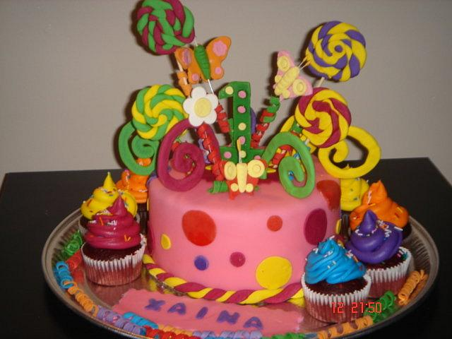 Yummy Girlie Cake