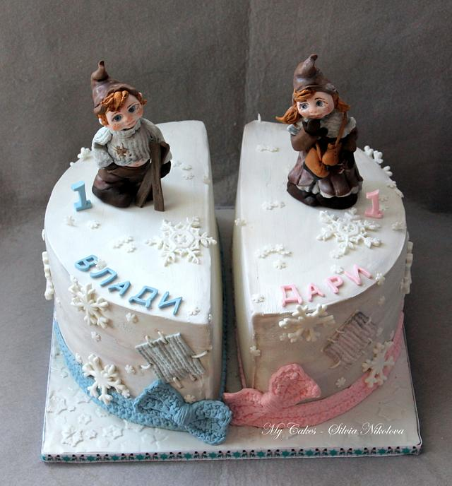 Vintage Winter Cake