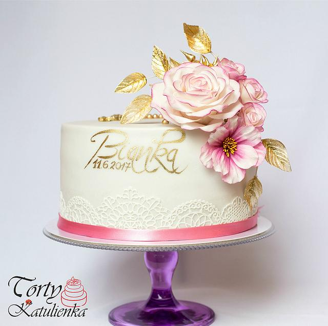 Cake for First Communion