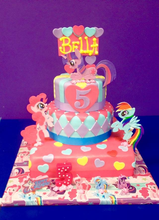 Super My Little Pony Birthday Cake By Sugared Tiers Cakesdecor Funny Birthday Cards Online Overcheapnameinfo
