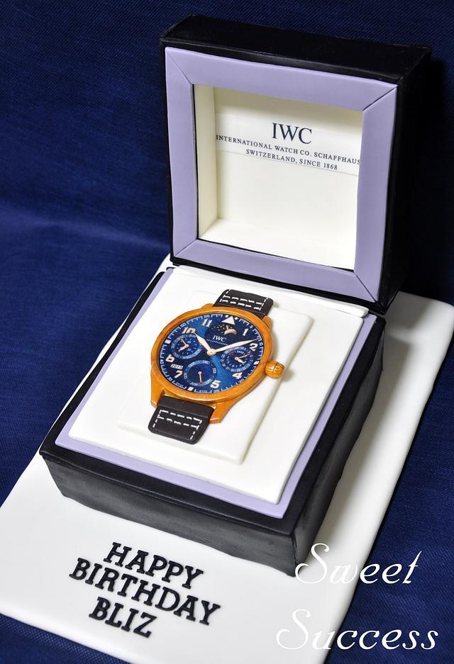IWC Watch Cake