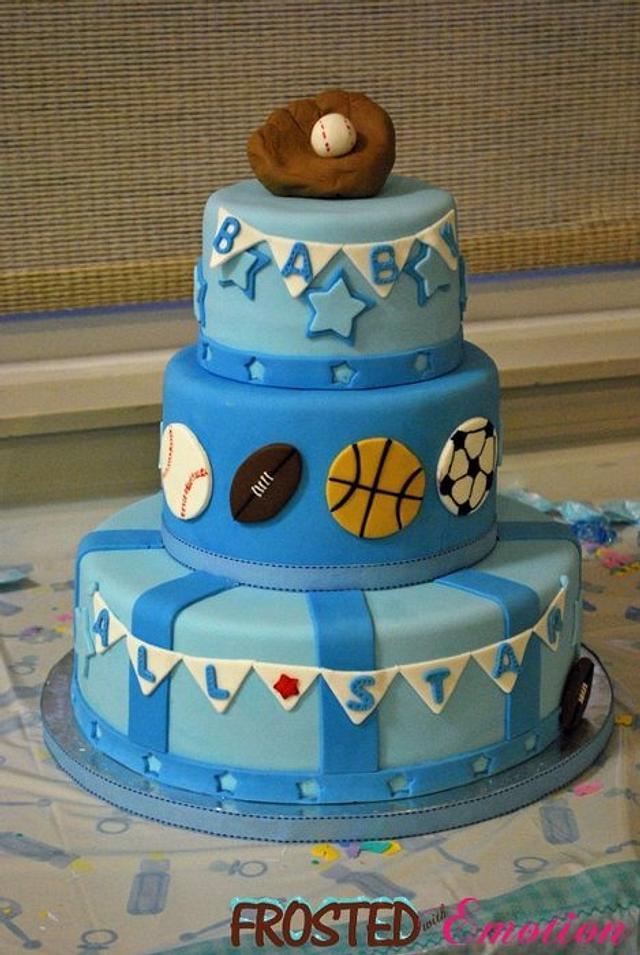 Allstar Baby Shower Cake