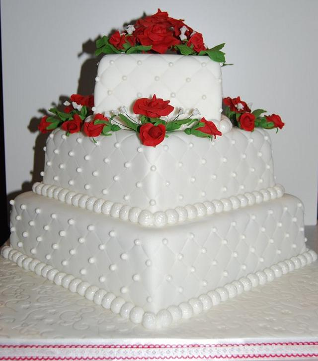 Cody & Salena's Wedding Cake